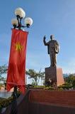 Άγαλμα του σεβαστού ηγέτη Ho Chi Minh του Βιετνάμ Στοκ Εικόνα