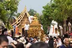 Άγαλμα του Σινγκ Phra του ναού Phra Σινγκ. Στοκ φωτογραφία με δικαίωμα ελεύθερης χρήσης