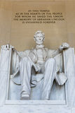 άγαλμα του Abraham Λίνκολν Στοκ εικόνες με δικαίωμα ελεύθερης χρήσης