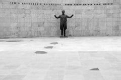 Άγαλμα του Ahmed Adnan Saygun Στοκ φωτογραφία με δικαίωμα ελεύθερης χρήσης