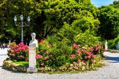 Άγαλμα του Antonio Canova σε Piazzale Napoleone Ι στη Ρώμη Στοκ εικόνες με δικαίωμα ελεύθερης χρήσης