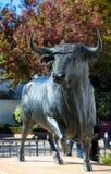 Άγαλμα του Bull στη Ronda Στοκ εικόνες με δικαίωμα ελεύθερης χρήσης