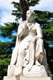 Άγαλμα του Byron στοκ φωτογραφίες