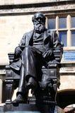 Άγαλμα του Charles Δαρβίνος, Shrewsbury στοκ φωτογραφία
