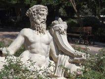Άγαλμα του Dionysus Στοκ Φωτογραφία