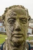 Άγαλμα του Dylan Thomas Στοκ φωτογραφία με δικαίωμα ελεύθερης χρήσης