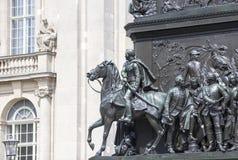 Άγαλμα του Frederick ο μεγάλος Στοκ Εικόνες