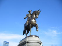Άγαλμα του George Washington, δημόσιος κήπος της Βοστώνης, Βοστώνη, Μασαχουσέτη, ΗΠΑ Στοκ φωτογραφίες με δικαίωμα ελεύθερης χρήσης