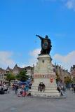 Άγαλμα του Jacob van Artevelde Στοκ Φωτογραφία