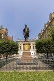 Άγαλμα του Johann Wolfgang Goethe, Λειψία Στοκ Φωτογραφίες