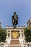 Άγαλμα του Johann Wolfgang Goethe, Λειψία Στοκ φωτογραφία με δικαίωμα ελεύθερης χρήσης