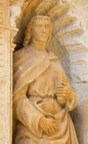 Άγαλμα του John ο απόστολος στοκ φωτογραφία με δικαίωμα ελεύθερης χρήσης