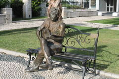 Άγαλμα του John Lennon Στοκ Εικόνες