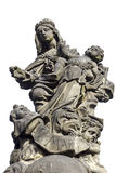 Άγαλμα του Madonna, ST Dominic και Thomas Aquinas στο Charles Στοκ φωτογραφίες με δικαίωμα ελεύθερης χρήσης
