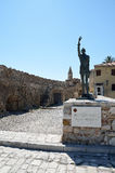 Άγαλμα του Miguel de Θερβάντες Στοκ φωτογραφία με δικαίωμα ελεύθερης χρήσης