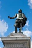 Άγαλμα του Miguel de Cervante Στοκ Εικόνες