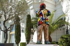 Άγαλμα του Miles Davis από το γαλλικό καλλιτέχνη Niki de Άγιος Phalle Στοκ Εικόνα