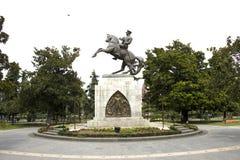 Άγαλμα του Mustafa Κεμάλ Ατατούρκ Samsun Στοκ Εικόνες