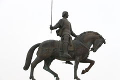 Άγαλμα του Nuno alvares Pereira Στοκ Φωτογραφίες