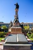 Άγαλμα του Pedro Domingo Murillo, Plaza Murillo, Λα Παζ, Βολιβία, Νότια Αμερική Στοκ Φωτογραφίες