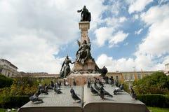 Άγαλμα του Pedro Murillo - Λα Παζ - Βολιβία Στοκ Εικόνα