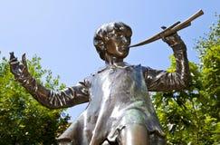 Άγαλμα του Peter Pan στο Λονδίνο στοκ φωτογραφία με δικαίωμα ελεύθερης χρήσης