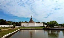 Άγαλμα του rama β βασιλιάδων άποψη στοκ φωτογραφίες με δικαίωμα ελεύθερης χρήσης