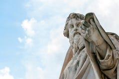 Άγαλμα του Saint-Paul ο απόστολος ΙΙ στοκ εικόνες με δικαίωμα ελεύθερης χρήσης