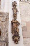 Άγαλμα του Saint-Paul το Apostel στον καθεδρικό ναό της Σεβίλης Στοκ Εικόνες