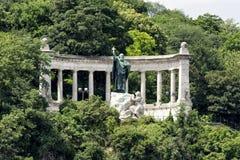 Άγαλμα του ST Gellert, Βουδαπέστη, Ουγγαρία Στοκ Εικόνες