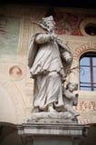 Άγαλμα του ST John Nepomuk Στοκ Εικόνα