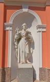 Άγαλμα του ST Peter του διαγώνιου Exaltation καθεδρικού ναού στη Αγία Πετρούπολη Στοκ φωτογραφία με δικαίωμα ελεύθερης χρήσης