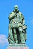Άγαλμα του William ο σιωπηλός στην πλατεία Het Plein της Χάγης Στοκ φωτογραφίες με δικαίωμα ελεύθερης χρήσης