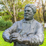 Άγαλμα των Δουμάτων Alexandre Στοκ Φωτογραφίες