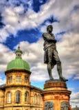 Άγαλμα των εγκαυμάτων του Robert στη Leith - τη Σκωτία Στοκ Εικόνες