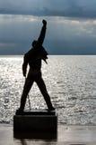 Άγαλμα υδραργύρου του Freddie στο Μοντρέ Στοκ φωτογραφία με δικαίωμα ελεύθερης χρήσης
