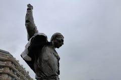 Άγαλμα υδραργύρου του Freddie Στοκ Φωτογραφία