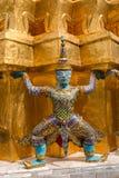 Άγαλμα φυλάκων σε Wat PhraKaew Στοκ φωτογραφίες με δικαίωμα ελεύθερης χρήσης