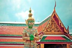 Φρουρά Daemon - Royal Palace, Μπανγκόκ, Ταϊλάνδη. Στοκ Φωτογραφία