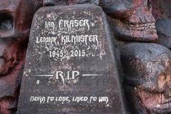 Άγαλμα φόρου Lemmy στο φεστιβάλ μετάλλων Hellfest Στοκ Φωτογραφίες