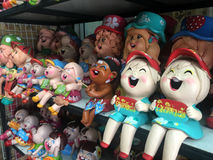Άγαλμα χαμόγελου παιδιών Στοκ Φωτογραφίες