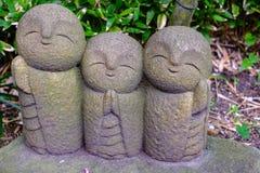 Άγαλμα χαμόγελου σε Kamakura, Ιαπωνία Στοκ Εικόνες