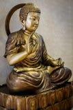 Άγαλμα χαλκού του Βούδα στοκ φωτογραφία με δικαίωμα ελεύθερης χρήσης