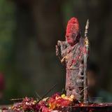 Άγαλμα χαλκού του Λόρδου Shiva, σε έναν ινδό ναό, Νεπάλ Στοκ εικόνα με δικαίωμα ελεύθερης χρήσης