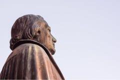Άγαλμα χαλκού του μεταρρυθμιστή Martin Luther σε Luthercurch, Κοπεγχάγη Στοκ φωτογραφία με δικαίωμα ελεύθερης χρήσης