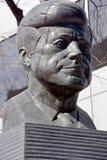 Άγαλμα χαλκού JFK στοκ εικόνες