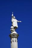 άγαλμα Χριστοφόρου Κολόμβος Μαδρίτη Ισπανία Στοκ εικόνες με δικαίωμα ελεύθερης χρήσης