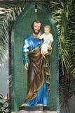 άγαλμα Χριστού Ιησούς Στοκ Εικόνα