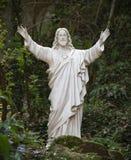 άγαλμα Χριστού Ιησούς Στοκ Εικόνες