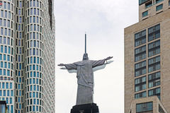 άγαλμα Χριστού Ιησούς Στοκ Φωτογραφία